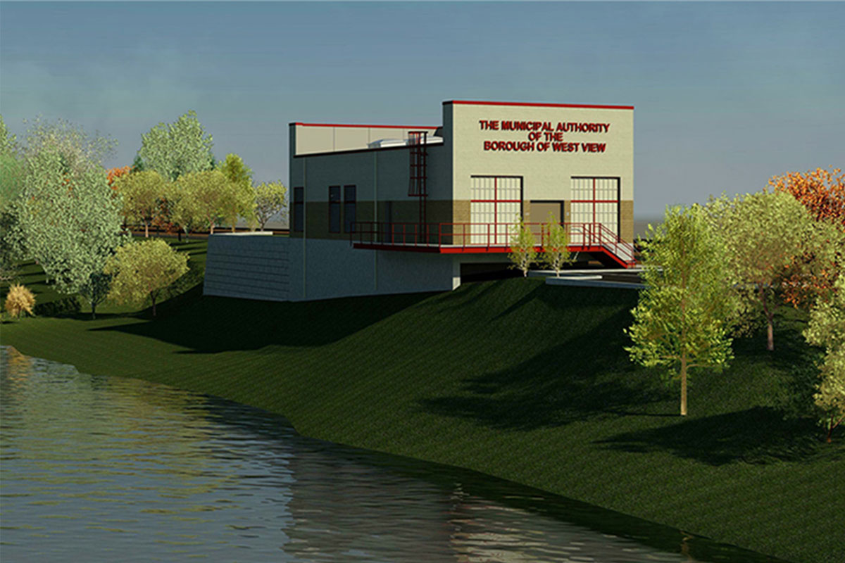 Rendering of Intake Facility