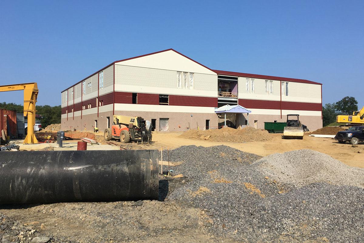 Construction Phase – Main Treatment Plant