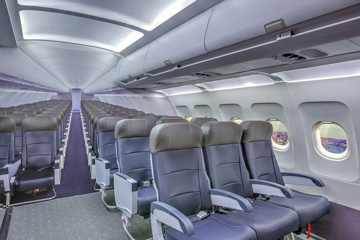 HDG collaborated with The Children's Museum of Pittsburgh on the design of the Airplane Experience. American Airlines and Magee Plastics provided authentic airplane parts, from which TCM created the exhibit installation.