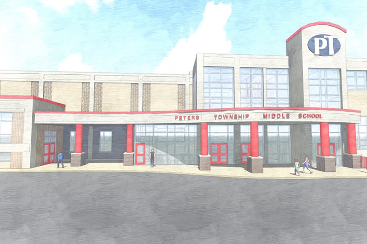 15 – Peters Township Middle School Rendering