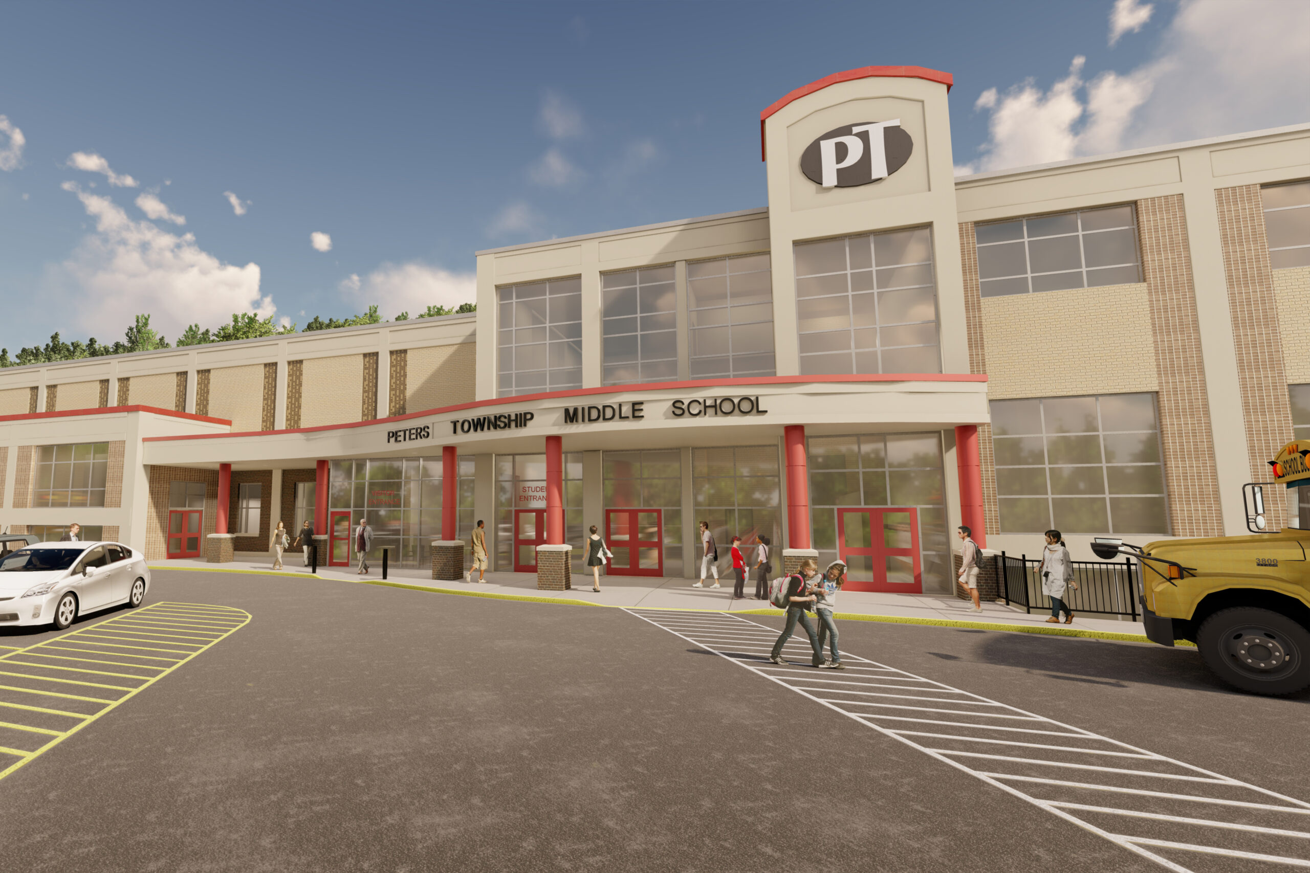 15 – Peters Township Middle School Rendering2